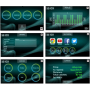 BH FITNESS FDC19 TFT Technologie Touch&Fun