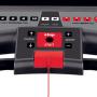 BH Fitness i.F2W DUAL tlačítka pro rychlé nastavení