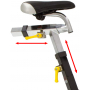 BH Fitness Duke Magnetic nastavení sedla